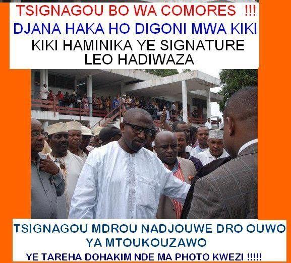 Comores: Mrodjou s'apprête à remanier son gouvernement!