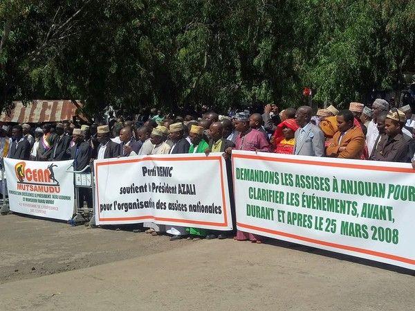 Anjouan: Les anjouannais demandent les assises!